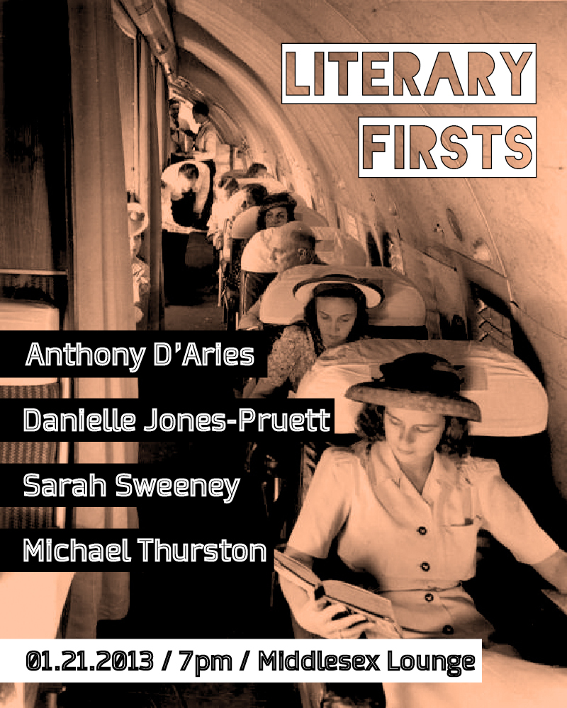 Literary Firsts January 2013