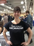 Shannon Walsh, web editor at Anomalous Press, prefers to remain Anomalous